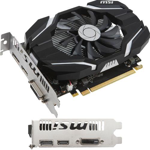 MSI Computer GeForce GTX 1050 Ti 4G OCV1