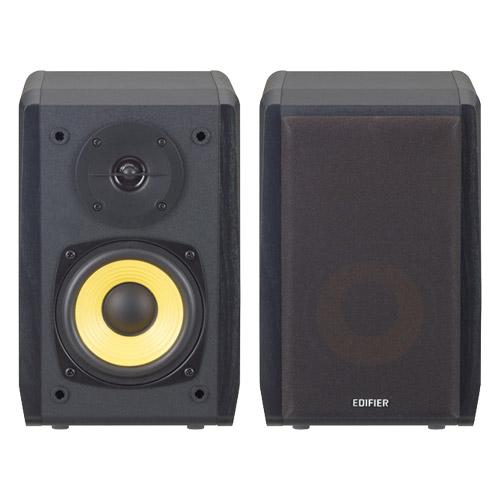 プリンストンテクノロジー ED-R1010BT-BK [Bluetoothブックシェルフマルチメディアスピーカー (ブラック)]