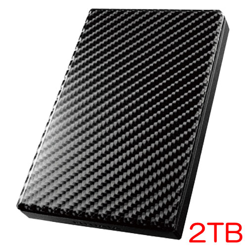HDPT-UT2DK/E [USB 3.0/2.0対応ポータブルハードディスク「カクうす」2TB]