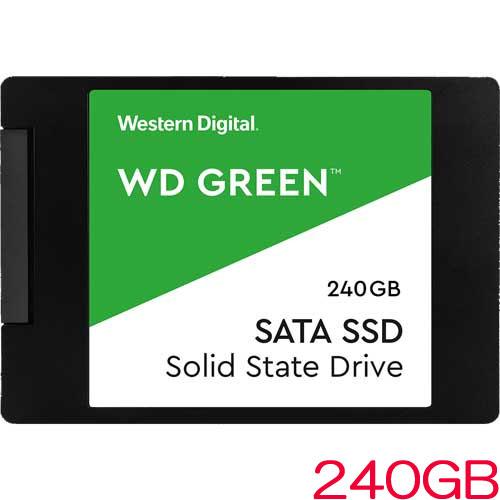 WDS240G2G0A [WD Green 3D NAND SATA SSD (240GB 2.5インチ SATA 6G 7mm厚 3年保証)]