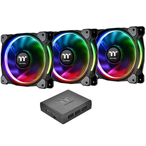 CL-F053-PL12SW-A [120mm ケースファン Riing Plus 12 RGB Fan Tt Premium Edition (3 Fan Pack)]
