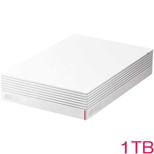 HD-LD1.0U3-WHA [USB3.1(Gen.1)対応 外付けHDD 1TB ホワイト]