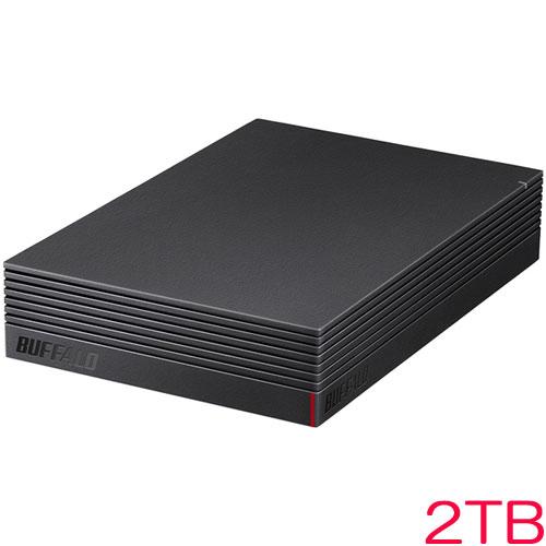 バッファロー HD-LD2.0U3-BKA [USB3.1(Gen.1)対応 外付けHDD 2TB ブラック]