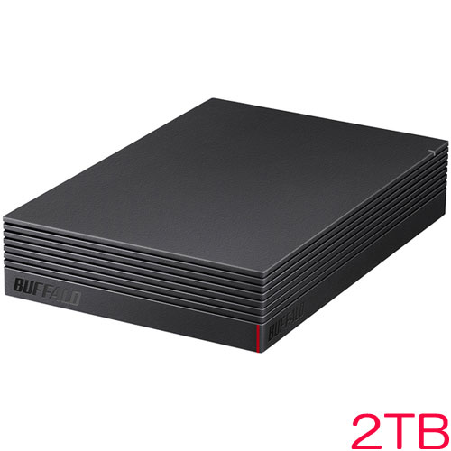 HD-LD2.0U3-BKA [USB3.1(Gen.1)対応 外付けHDD 2TB ブラック]