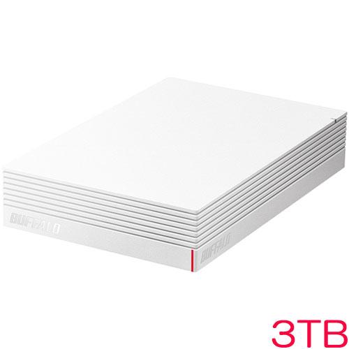 HD-LD3.0U3-WHA [USB3.1(Gen.1)対応 外付けHDD 3TB ホワイト]