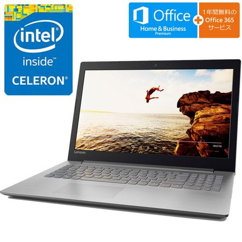 80XR019XJP [IdeaPad 320(Cel-N3350、4G、500GB、15.6FHD、オフィス、シルバー)]