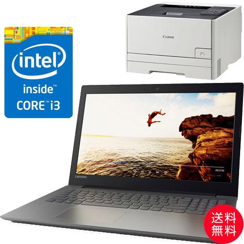★お得なレーザープリンターセット★80XH006DJP [IdeaPad 320(i3-6006U 4G SSD128GB 15.6FHD(Black))]