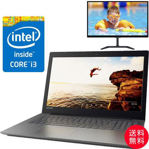 ★お得な液晶ディスプレイセット★80XH006DJP [IdeaPad 320(i3-6006U 4G SSD128GB 15.6FHD(Black))]