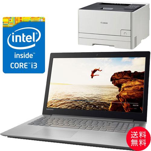 ★お得なレーザープリンターセット★80XH006FJP [IdeaPad 320(i3-6006U 4G SSD128GB 15.6FHD(Gray))]