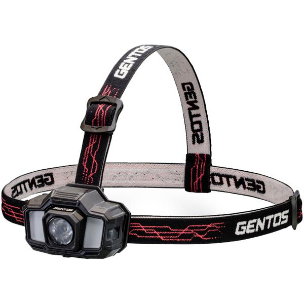 ジェントス GD-200R [LEDヘッドライト 200lm]