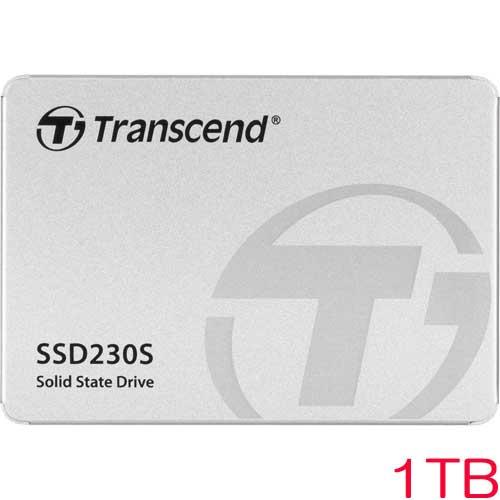 TS1TSSD230S [1TB SSD230シリーズ 2.5インチ SATA3 3D TLC搭載 アルミ筐体]