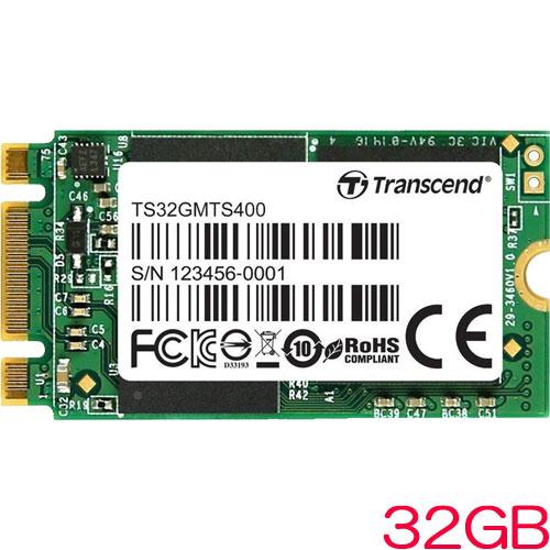 TS32GMTS400S [32GB SSD MTS400S M.2 Type 2242 SATA-III 6Gb/s MLC NAND]