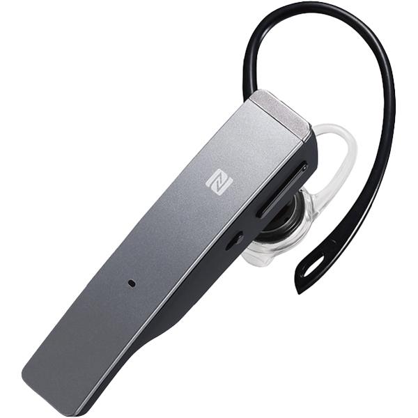 バッファロー(サプライ) BSHSBE500SV [Bluetooth4.1 2マイクヘッドセット NFC対応 シルバー]