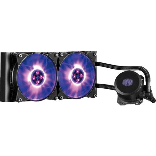 クーラーマスター MLW-D24M-A20PC-R1 [一体型水冷CPUクーラー MasterLiquid ML240L RGB]