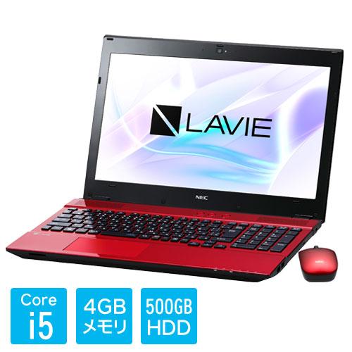 PC-SN254HRAB-1 [LAVIE Smart NS(S) Core i5-7200U 4GB 500GB DSM 15.6型 レッド]