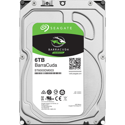 ST6000DM003 [BarraCuda(6TB HDD 3.5インチ SATA 6G 256MB)]