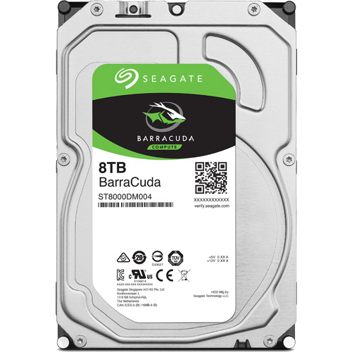 ST8000DM004 [BarraCuda(8TB HDD 3.5インチ SATA 6G 256MB)]