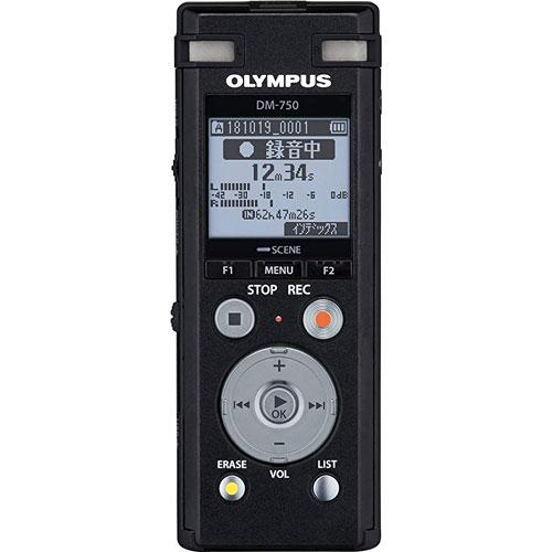オリンパス DM-750 BLK [Voice Trek DM-750 ブラック]