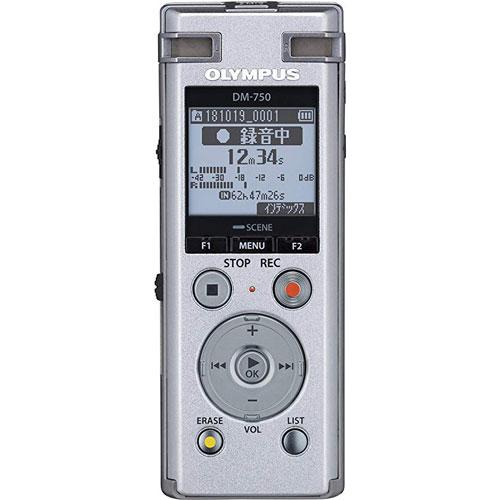 オリンパス DM-750 SLV [Voice Trek DM-750 シルバー]