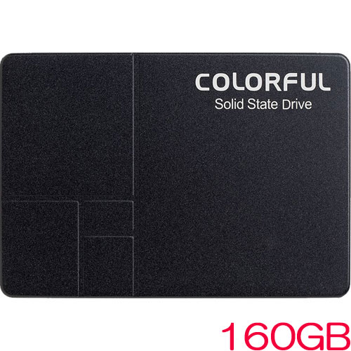 COLORFUL SL300 160G [160GB SSD 2.5インチ 7mm、SATA 6Gb、3D TLC、SMI SM2258XT、キャッシュレス、3年保証]