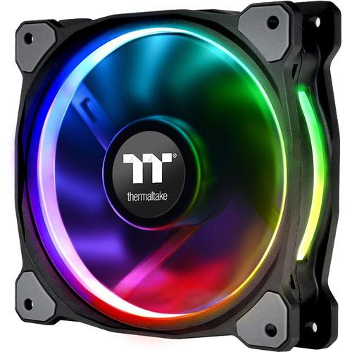 Thermaltake CL-F059-PL12SW-A [120mm ケースファン Riing Plus 12 RGB Radiator Fan Tt Premium Edition]