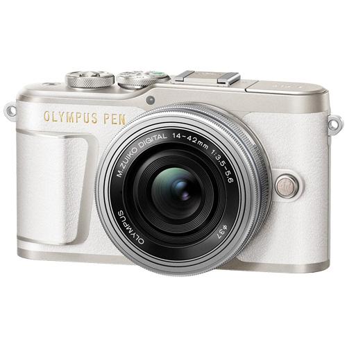 オリンパス PEN E-PL9 14-42mm EZ レンズキット ホワイト