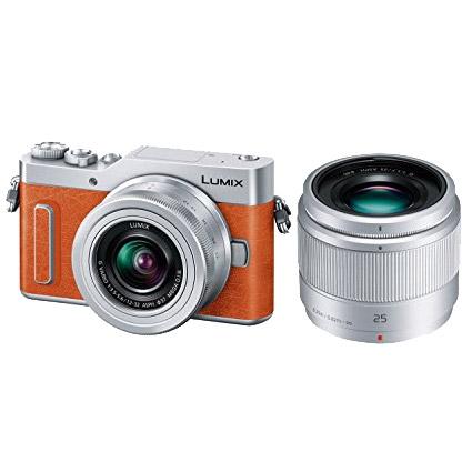 パナソニック LUMIX(ルミックス) DC-GF90W-D [デジタル一眼カメラ LUMIX GF90 Wレンズキット(オレンジ)]