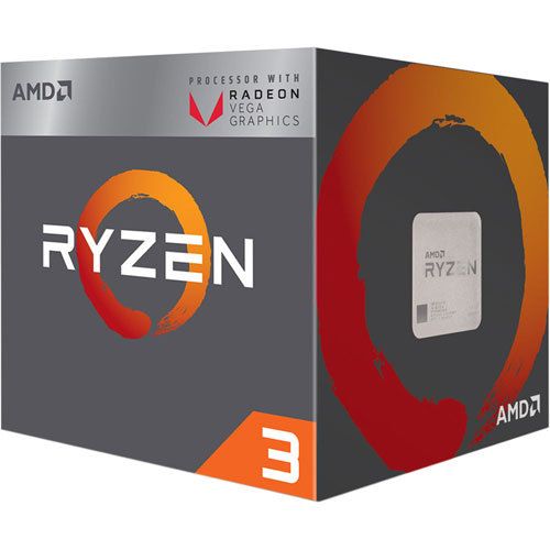 AMD YD2200C5FBBOX [Ryzen 3 2200G (4コア/3.5GHz/Radeon Vega 8/TDP 65W/Socket AM4) BOX with Cooler]