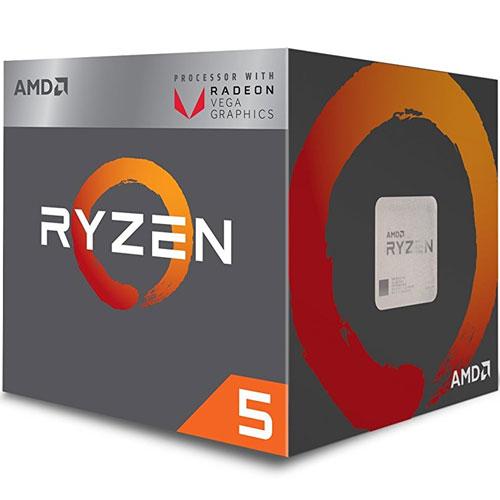 AMD YD2400C5FBBOX [Ryzen 5 2400G (4コア/3.6GHz/Radeon RX Vega 11/TDP 65W/Socket AM4) BOX with cooler]