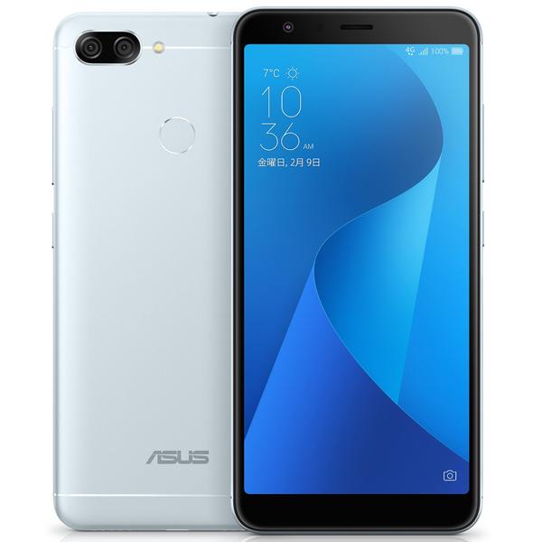 ASUS ZB570TL-SL32S4 [ZenFone Max Plus (M1) アズールシルバー]