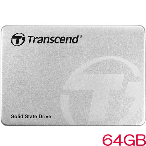 TS64GSSD360S [64GB SSD360Sシリーズ 2.5インチ SATA3 MLC搭載 アルミ筐体]