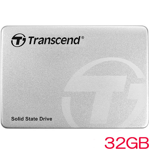 TS32GSSD360S [32GB SSD360Sシリーズ 2.5インチ SATA3 MLC搭載 アルミ筐体]