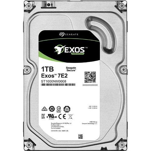 シーゲート ST1000NM0008 [Exos 7E2 (1TB HDD 3.5インチ SATA 6G 7200rpm 128MB)]