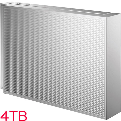 HDCZ-UT HDCZ-UT4WB [USB3.1 Gen1/2.0対応 外付HDD 4TB ホワイト]