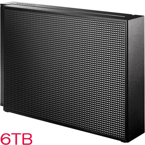 HDCZ-UT HDCZ-UT6KB [USB3.1 Gen1/2.0対応 外付HDD 6TB ブラック]