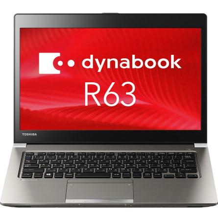 東芝 PR63FGA4447QD1H [dynabook R63/F(i3-6006U 8GB 256GB_SSD 13.3HD  W10P H&B)]