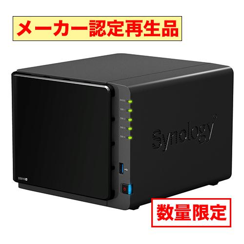 Synology ★メーカー再生品、6ヶ月保証 DS916+/8GB [DiskStation 4ベイ NAS 4コアPentium 8GBメモリ SATA対応]
