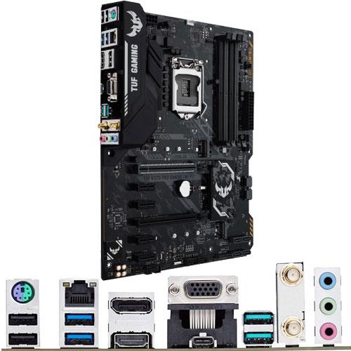 ASUS TUF H370-PRO GAMING (WI-FI) [マザーボード Intel H370/LGA1151/DDR4/USB 3.0 Type-C/11ac/ATX]