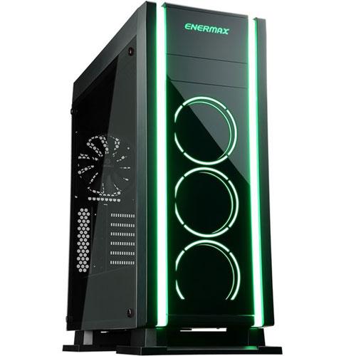 ENERMAX ECA3500BA-RGB [ATX ミドルタワーケース SABERAY 12cm RGBファン×3 標準搭載]