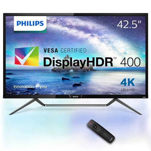 フィリップス(ディスプレイ) 436M6VBRAB/11 [42.5型 4K DisplayHDR400対応 MVA液晶ディスプレイ]