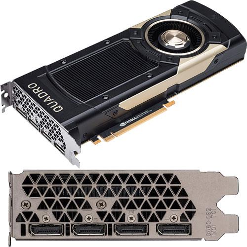 Nvidia NVQGV100-32GHBM2 [NVIDIA Quadro GV100 32GB HBM2]
