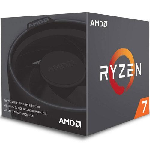 AMD YD2700BBAFBOX [Ryzen 7 2700 (8コア/3.2GHz/TDP 65W/Socket AM4) with Wraith Spire(LED) cooler]