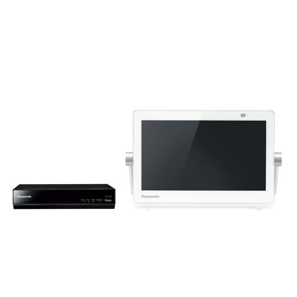 プライベートVIERA UN-10T8-W [HDDレコ付ポータブルデジタルテレビ 10V型 (ホワイト)]