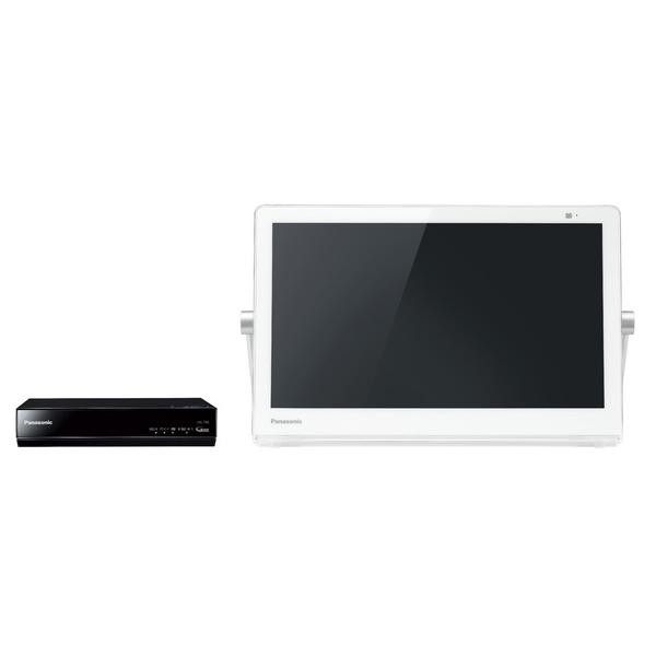 プライベートVIERA UN-15T8-W [HDDレコ付ポータブルデジタルテレビ 15V型 (ホワイト)]