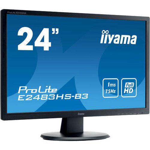 イーヤマ ProLite E2483HS-B3 [24型ワイド液晶ディスプレイ E2483HS-3 ブラック]