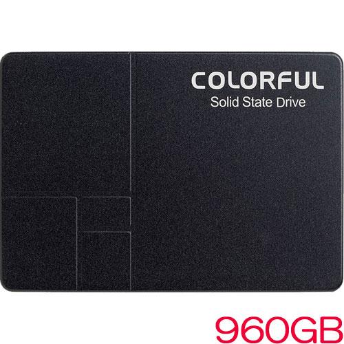 SL500 960G [960GB SSD 2.5インチ 7mm、SATA 6Gb、Intel 3D TLC、SMI SM2258XT、キャッシュレス、3年保証]