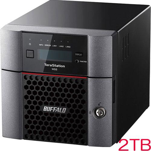 バッファロー TeraStation WSS WS5220DN02W6 [WSS2016 法人向け2ドライブNAS 2TB]