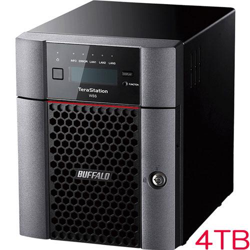 バッファロー TeraStation WSS WS5420DN04W6 [WSS2016 WE 4ドライブNAS 4TB]