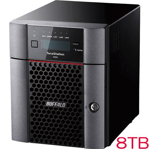 バッファロー TeraStation WSS WS5420DN08S6 [WSS2016 SE 4ドライブNAS 8TB]