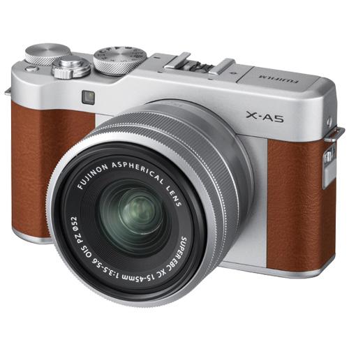 富士フイルム X-A5LK-BW [ミラーレスデジタルカメラ X-A5 レンズキット ブラウン]